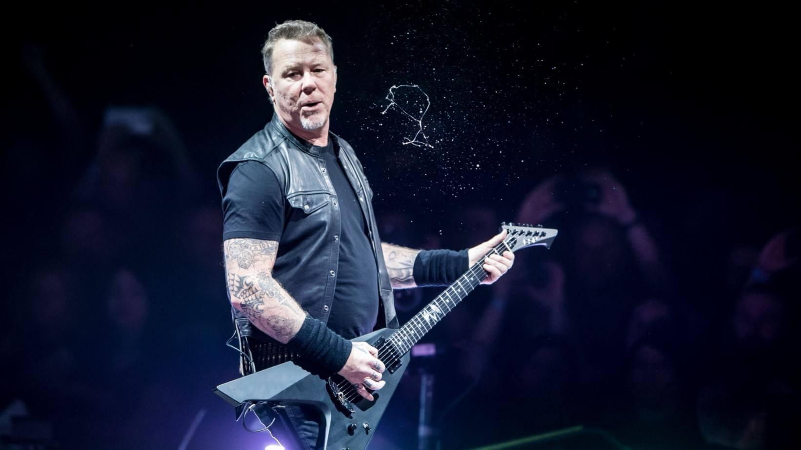 James Hetfield 2018