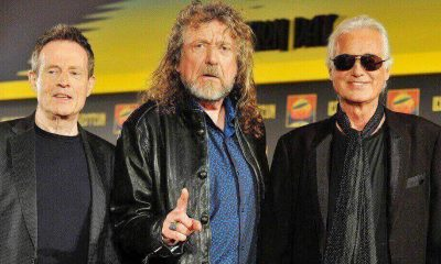 John Paul Jones, Robert Plant and Jimmy Page
