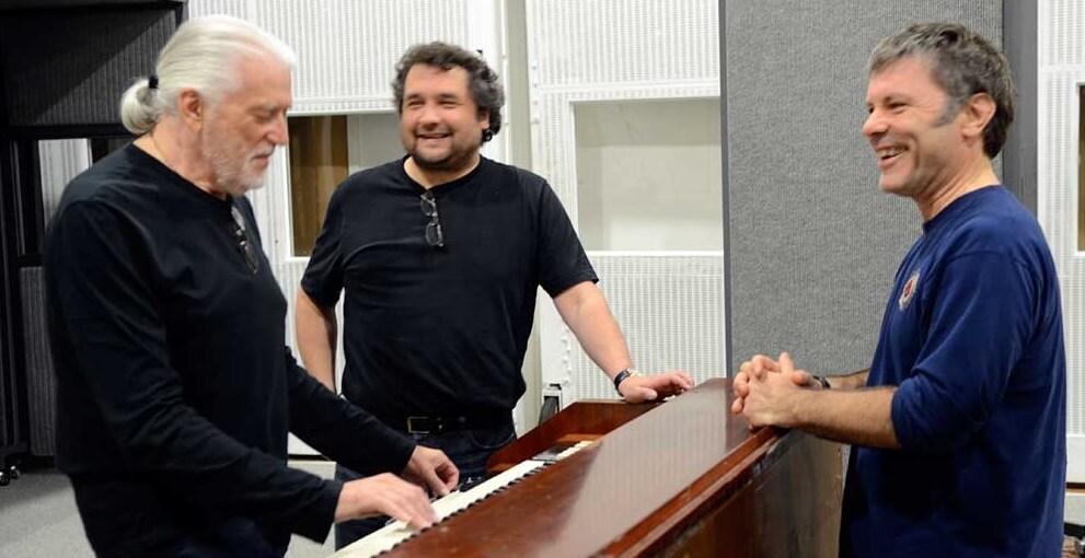 Jon Lord and Bruce Dickinson