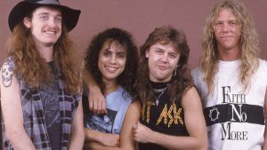 Metallica with Cliff Burton