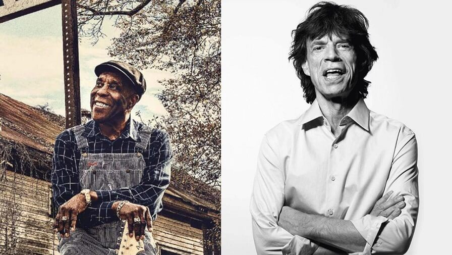 Mick Jagger and Buddy Guy