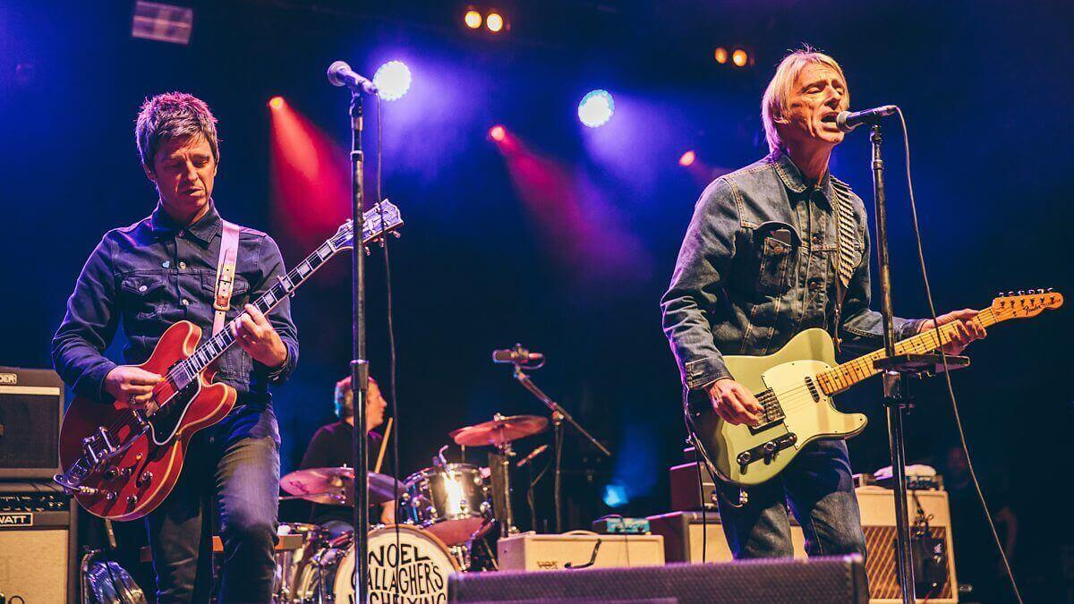 Noel Gallagher and Paul Weller 2018