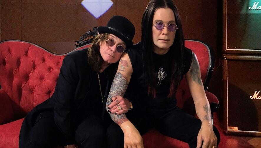 Ozzy Osbourne and wax toy
