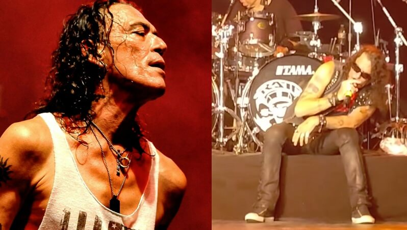 Ratt's Stephen Pearcy intoxicated