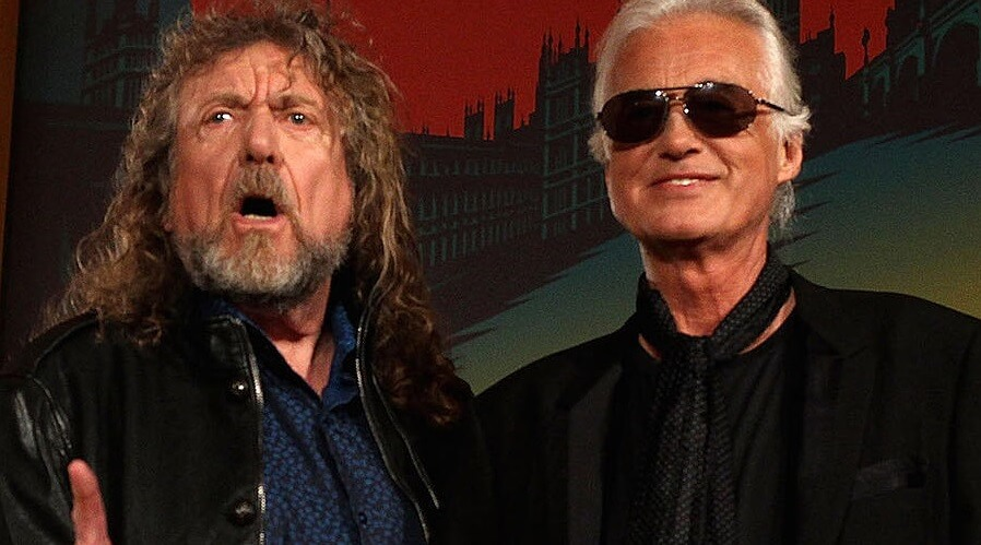 Robert Plant and Jimmy Page trial