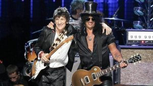 Ronnie Wood and Slash