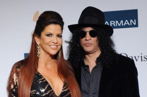 Slash and ex-wife