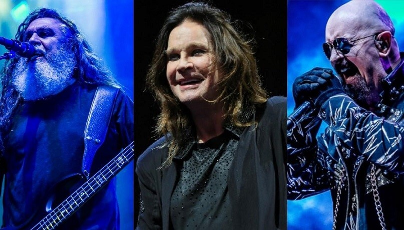 Tom Araya, Ozzy and Rob Halford