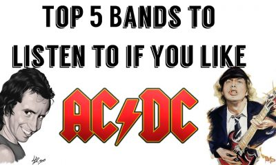 Top 5 Bands to listen to if you like ACDC
