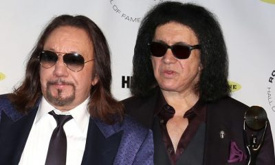 Ace Frehley and Gene Simmons