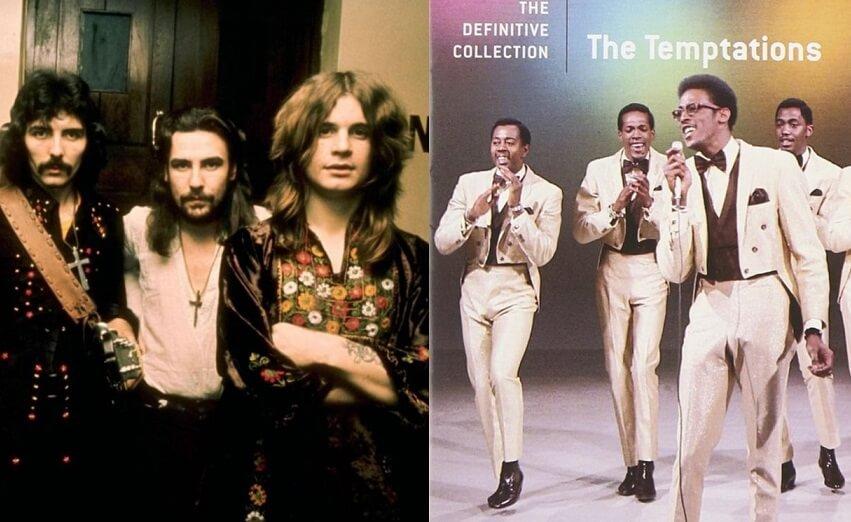 Black Sabbath and Temptations