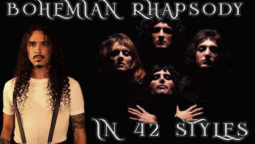 Bohemian Rhapsody in 42 styler