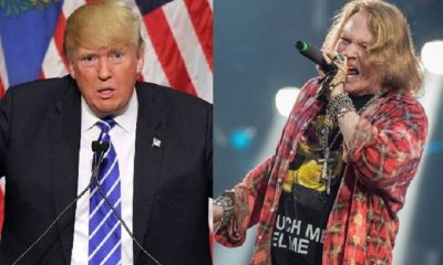 Donald Trump and Axl Rose