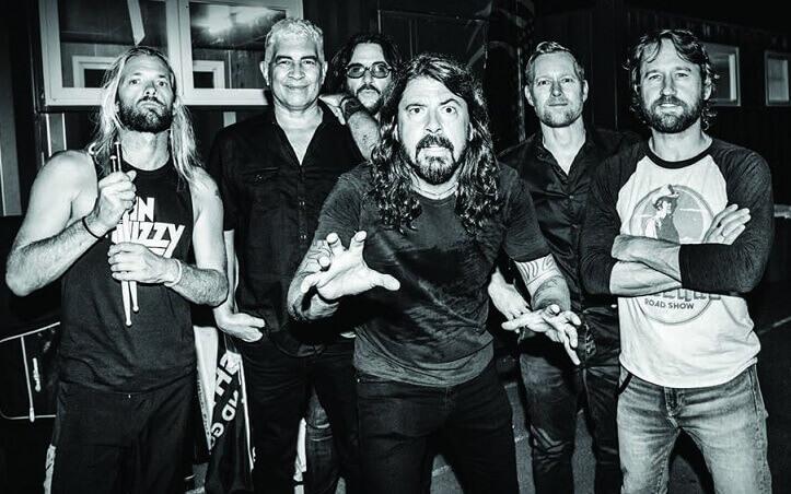 Foo Fighters break