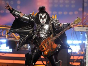 Gene Simmons playing