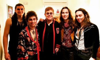 Greta Van Fleet and Elton John