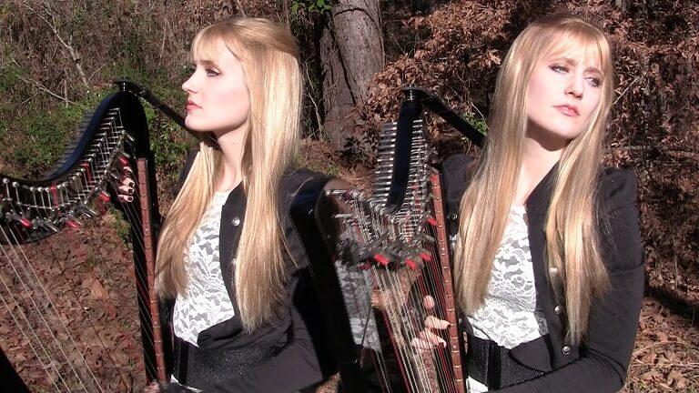 Harp Twins metallica