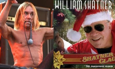 Iggy Pop and William Shatner