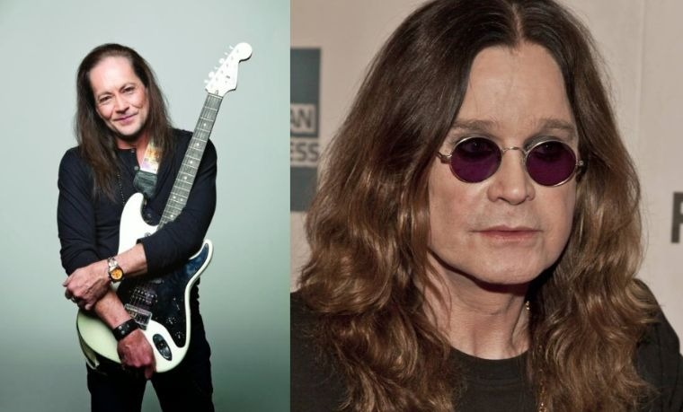 Jake E Lee and Ozzy Osbourne