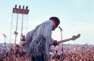 Jimi Hendrix in Woodstock