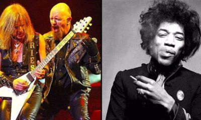 KK downing and Jimi Hendrix