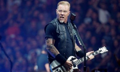 Metallica live in Austin Texas