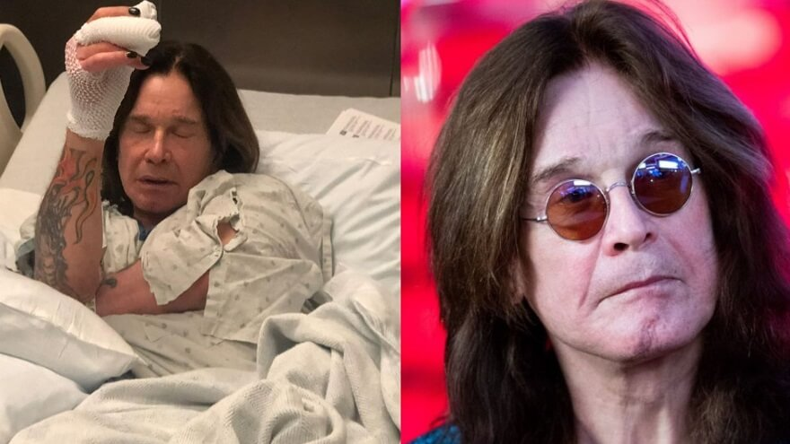 Ozzy Osbourne infection came from a fan