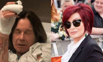 Ozzy injured and Sharon Osbourne