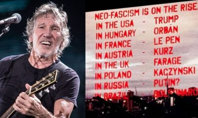 Roger Waters protests in Brazil