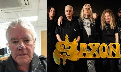 Saxon Drummer bitten by a dog