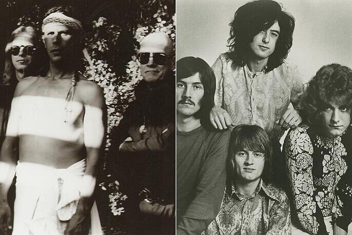 Spirit and Led Zeppelin