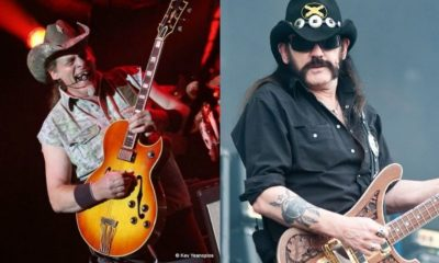 Ted Nugent and Lemmy Kilmister