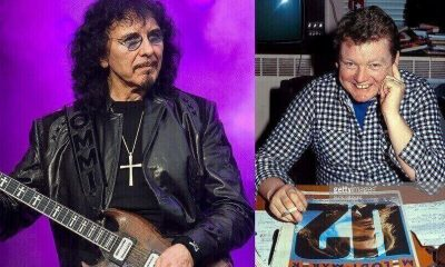 Tony Iommi and Allan Jones