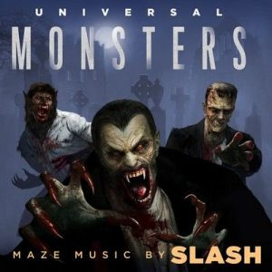 Universal Monsters by Slash