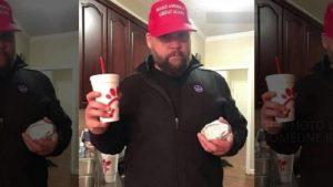 Benton Blount pro trump post