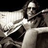 Chris Cornell playing guitar