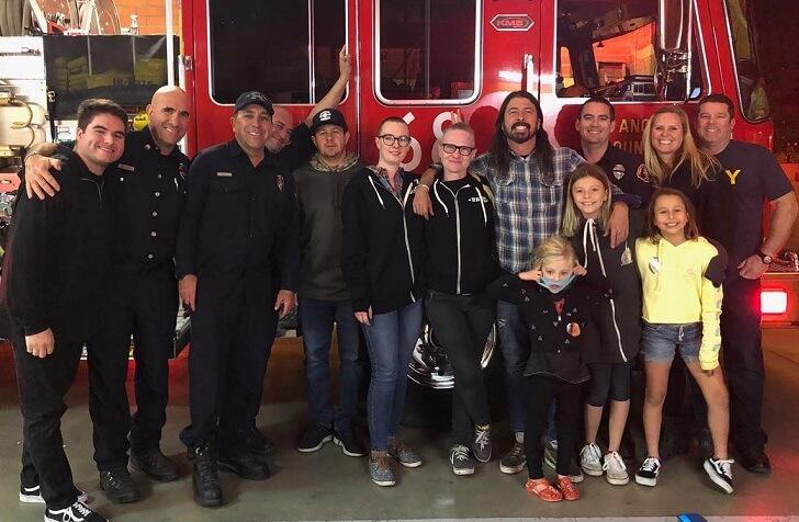 Dave Grohl and Fireman
