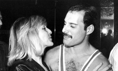 Freddie Mercury and girlfriend