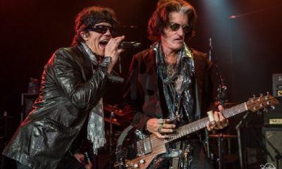 Gary Cherone and Joe Perry