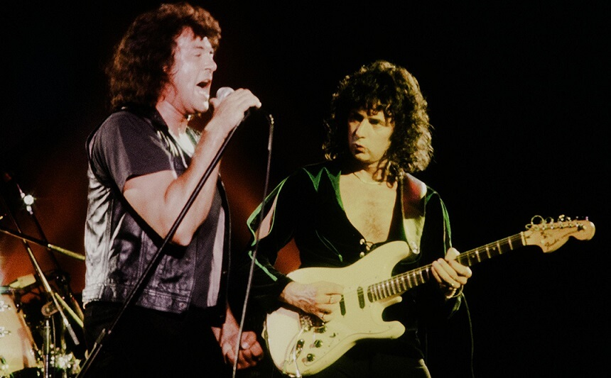 Ian Gillan and Blackmore
