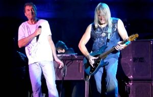 Ian Gillan and Steve Morse