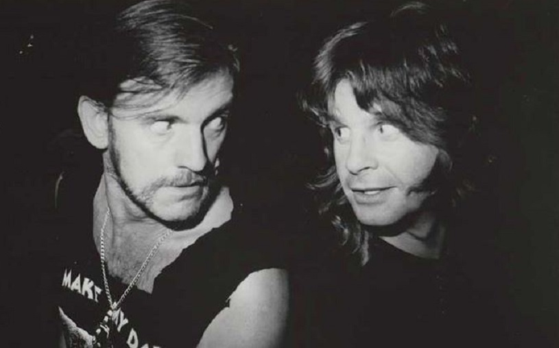 Lemmy Kilmister and Ozzy Osbourne