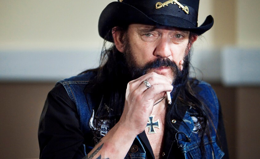 Lemmy smoking