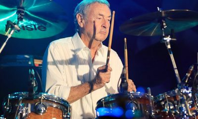 Nick Mason drums