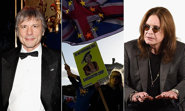 Ozzy, Bruce Dickinson Brexit