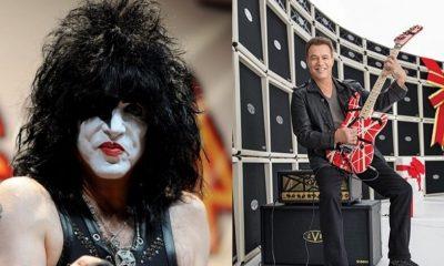 Paul Stanley and Eddie Van Halen