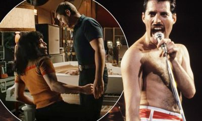 People are booing scenes of Freddie Mercury with other men in the movie