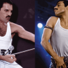 Rami Malek and Freddie Mercury live aid