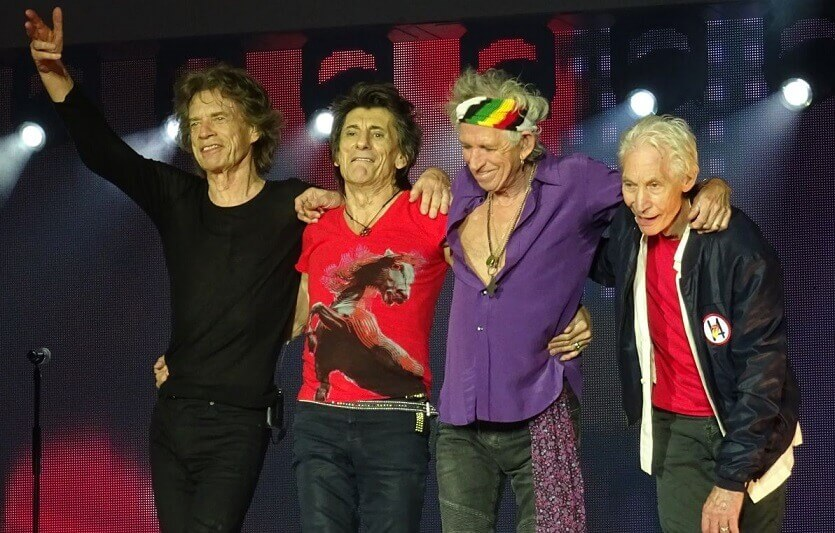 Rolling Stones no filter tour