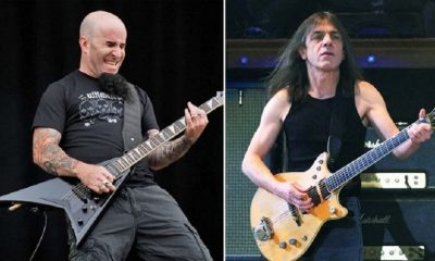 Scott Ian and Malcolm Young
